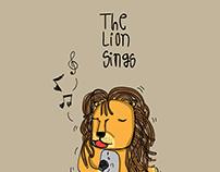 lion sings