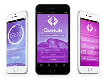Quietude app design