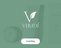 Viridí - naming + logo / натуральная косметика