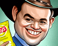 James Clarke Caricature illustration