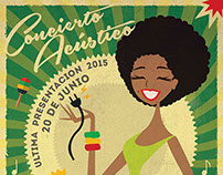 Queens of Reggae - Concert Poster