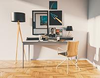 The Artist Desk