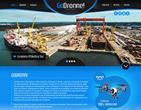 Layout para a GoDronne Imagens Áreas