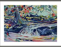 Caliente Series: Birds Waterfall