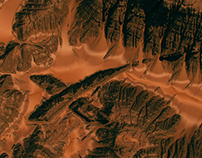 SpaceX Mars Terrain