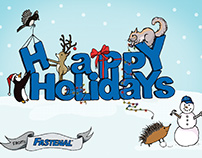 Fastenal Holiday Card Designs