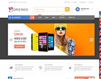 Orienko - Digital eCommerce Template