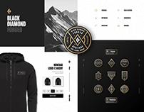 Black Diamond Forged Badges