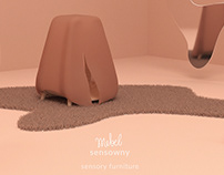 mebel sensowny: sensory furniture