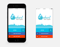 A user friendly mobile app for LAHARI Water supply.