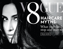Vogue India website carousels