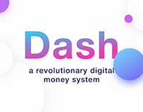 Dash Cryptocurrency // redesign concept