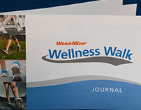 Wood-Mizer Wellness Walk Branding