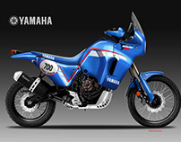 YAMAHA TENERE' 700 PD HERITAGE CONCEPT