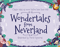 Wondertales from Neverland: Illustrated children book