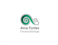 Logo Aline Fontes Fonoaudióloga