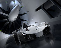 BAC MONO in Wind Tunnel