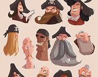 Random pirate sketches
