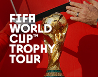 FIFA World Cup Trophy Tour by Coca-Cola in Yerevan