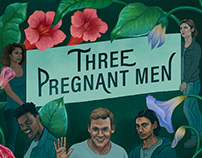 Three Pregnant Men