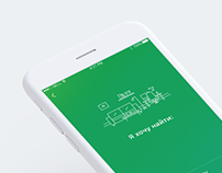 Сonstruction company mobile app UX/UI