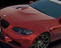 BMW M3 Coupe Renderman