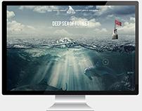 deep sea web design