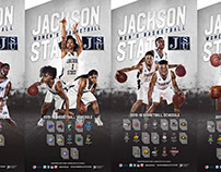 2015 JSU Basketball Posters