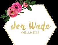 Jen Wade Wellness Logo Design