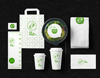 The Salad Project branding