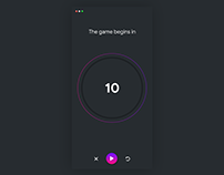 Day13:countdown timer ui| Daily UI/UX with animation.