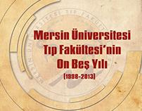 MEÜ Tıp Fakültesi'nin On Beş Yılı Kapak Tasarım