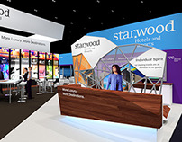 Starwood Hotels 50' x 70' Exhbit Design Concept