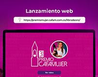 Mujer Cafam - Libro de Oro edición 31 web
