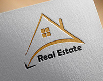 Modern Real Estate Business Logo Design