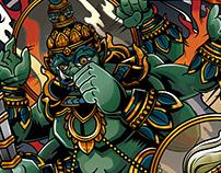 Hanuman X TosSaKan