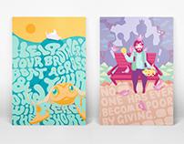 Philanthropy Poster Project 慈善插画海报项目