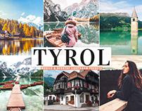Free Tyrol Mobile & Desktop Lightroom Presets
