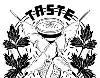 Taste Good Malaysian Cuisine Branding