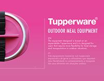 TUPPERWARE | OUTDOOR MEAL EQUIPMENT