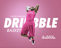 Dribbble Basketball Teams Up With Cancer Awareness