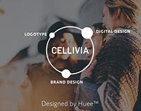 Cellivia - Brand design and Web