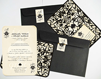 Ace of Spades : Wedding invitations