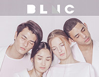 BLNC MAGAZINE (layout)