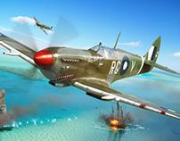 Spitfire Mk VIII - Eduard Model Accessories boxart