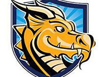 Creative Learning Academy Dragons Logo
