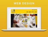 Vietnamese restaurant web design