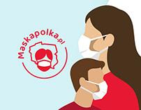 Maska Polka