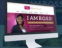 I Am B.O.S.S. Website Design