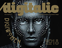 Cover Digitalic Magazine /09/2018 _n.76